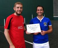 European Championships: Captains England And Italy B